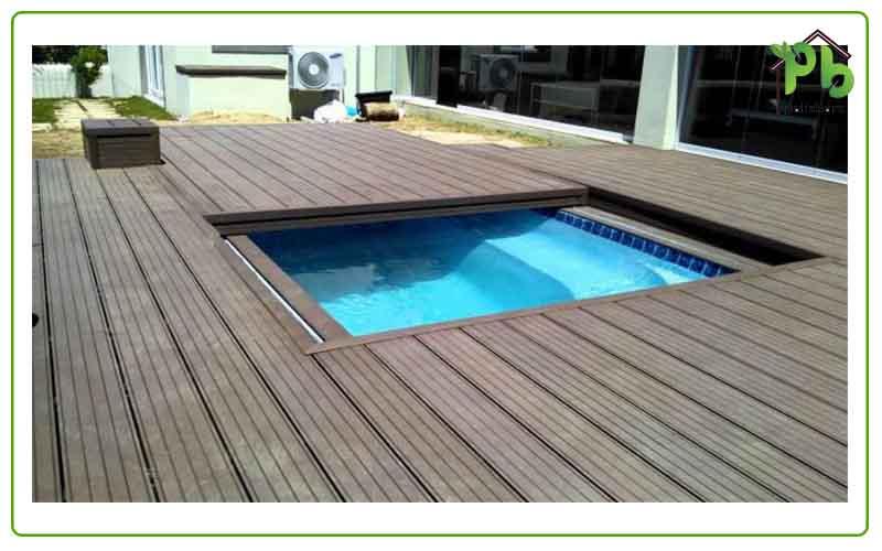 طراحی استخر بام سبز