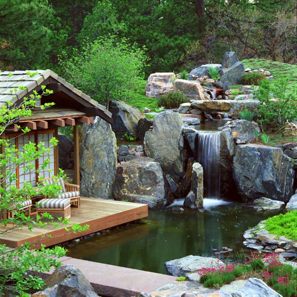 باغ ابی در روف گاردن و محوطه سازی
