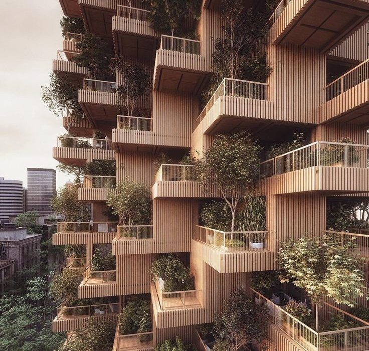 معماری سبز و ارتباط آن با روف گارن و دیوار سبز
