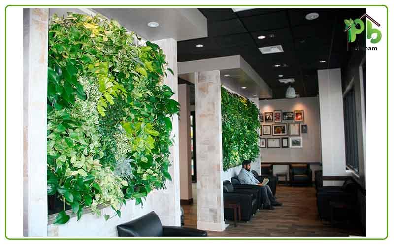 دیوار سبز در منزل