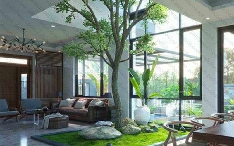 پاسیو سبز در معماری نوین