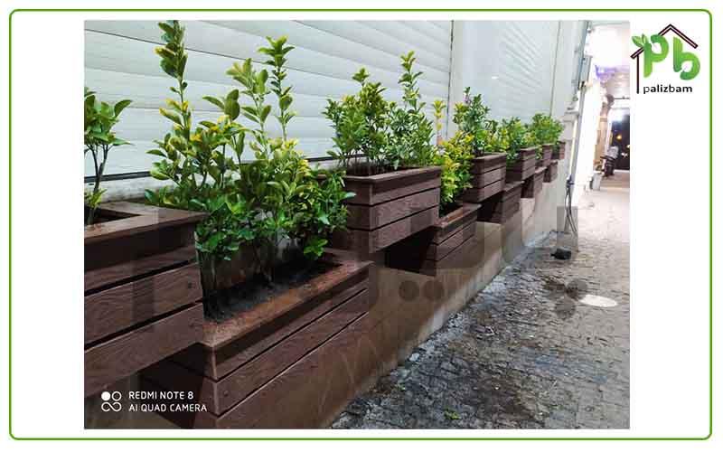 فلاورباکس های دیوار سبز و انواع آن در پالیزبام