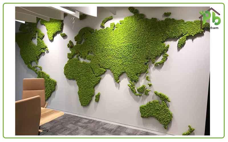 چالش های دیوار سبز خزه ای
