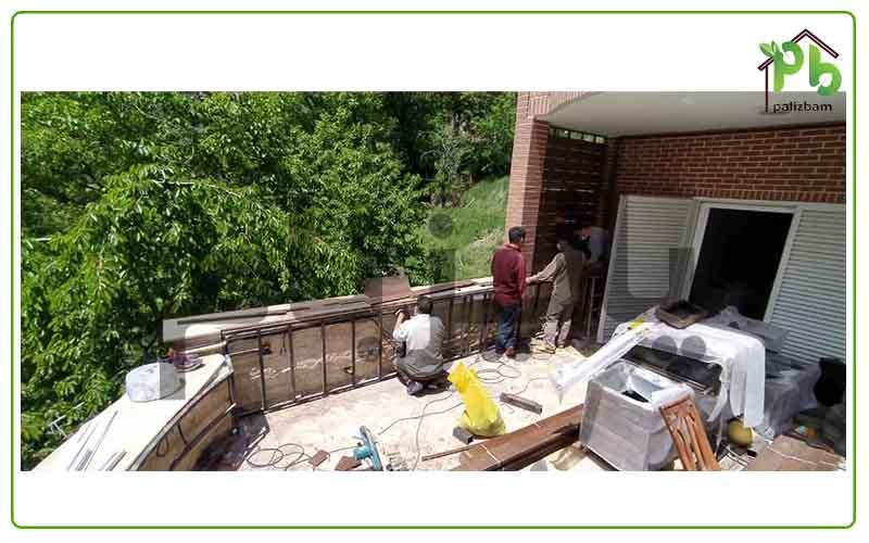 وضعیت موجود پروژه تراس سبز میگون